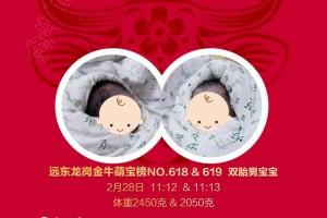 NO.3双胎在我院顺利降临,一双男宝祝福成双!